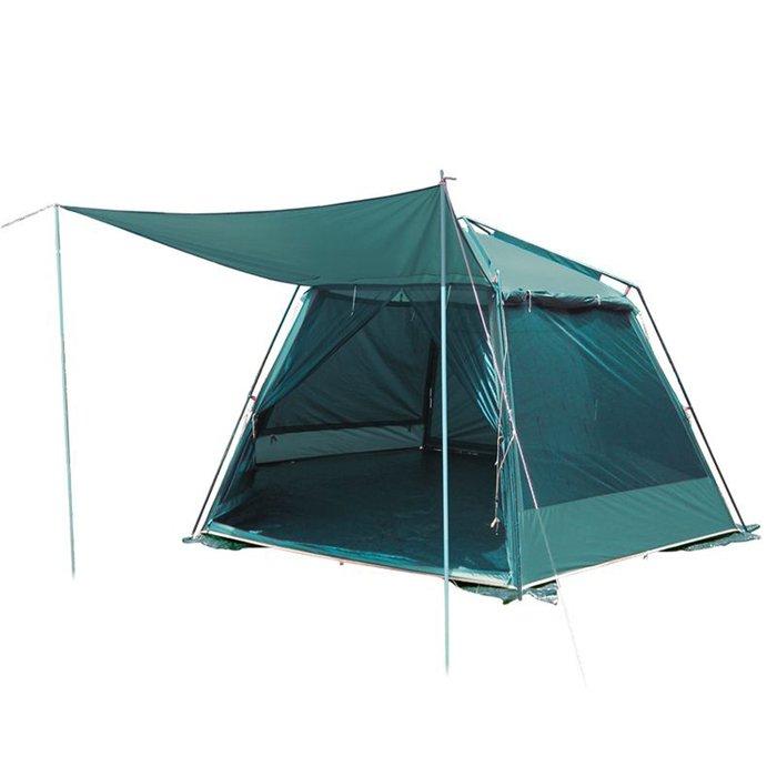 Tramp палатка Mosquito Lux Green (V2), цвет зелёный фото