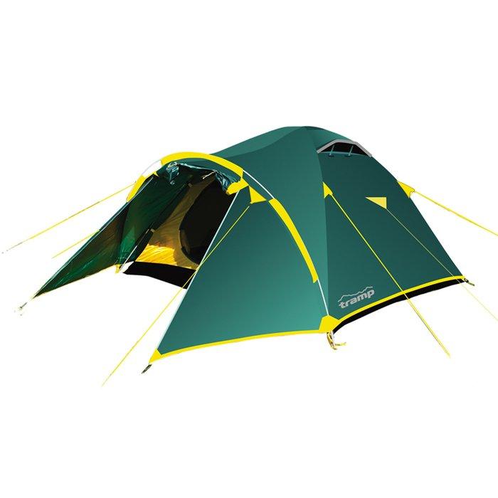 Tramp палатка Lair 3, цвет зелёный фото