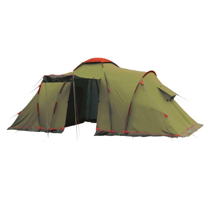 Tramp Lite палатка Castle 4, цвет зелёный фото