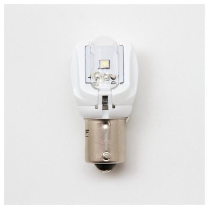 Светодиодная лампа MTF Light, P21W, 12 В, 2,6 Вт, ЯНТАРНЫЙ фото