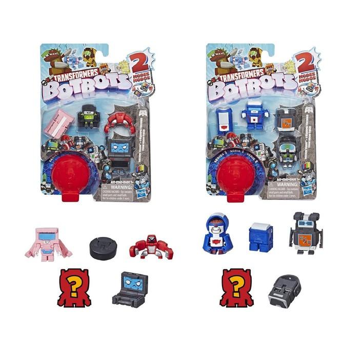 Игровой набор Hasbro Transformers «Ботботс», 5 трансформеров, МИКС фото