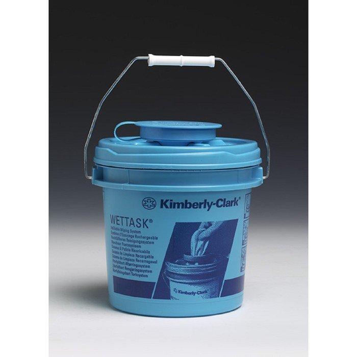 Диспенсер-ведро для протирочных салфеток Kimberly-Clark Wettask, 4 шт в упаковке фото