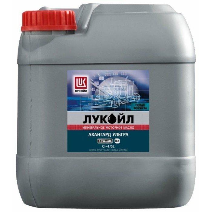 Масло моторное Лукойл, 15-W40,