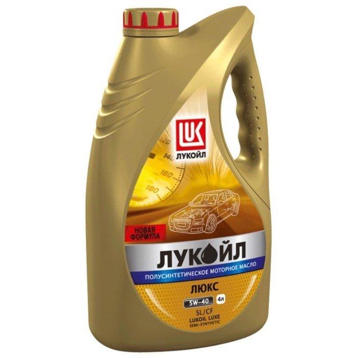 Масло моторное Лукойл, 5W-40, полусинтетическое,