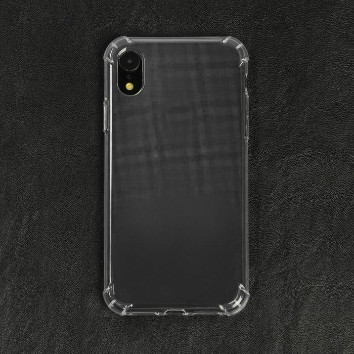 Чехол LuazON для телефона iPhone Xr, силиконовый, тонкий, противоударный фото