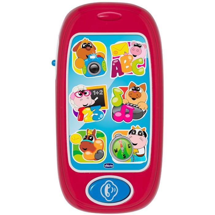 Развивающая игрушка Chicco «Говорящий смартфон ABC» русский, английский языки, от 6 месяцев 466785 фото