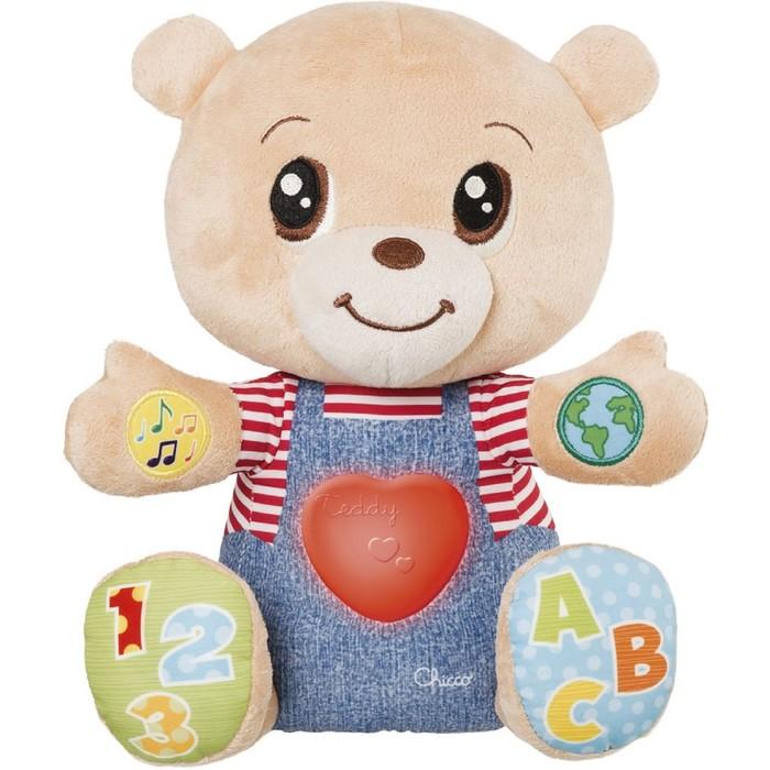 Развивающая игрушка Chicco «Говорящий мишка TeddyEmotion», от 6 месяцев фото