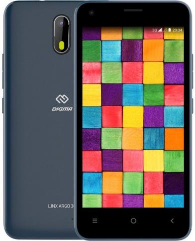 Смартфон Digma Linx A453 3G 8Gb синий фото