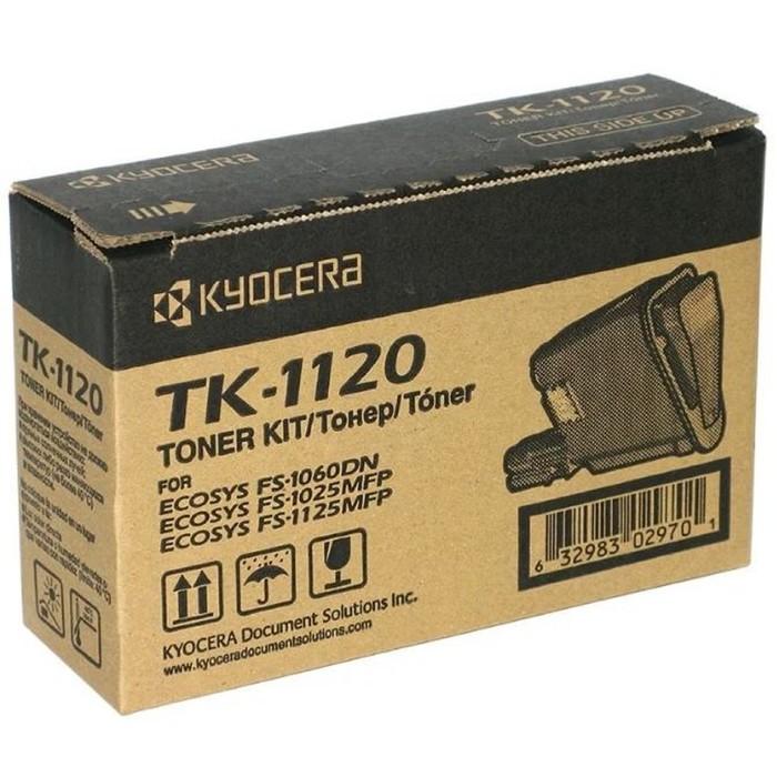 Тонер Картридж Kyocera TK-1120 черный для Kyocera FS-1060DN/1025/1125 (3000стр.) фото