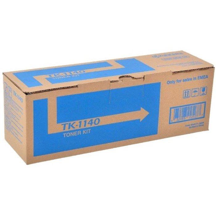 Тонер Картридж Kyocera TK-1140 черный для Kyocera FS-1035MFP/1035MFP/DP-1135/1135MFP/M2035 (7200стр. фото