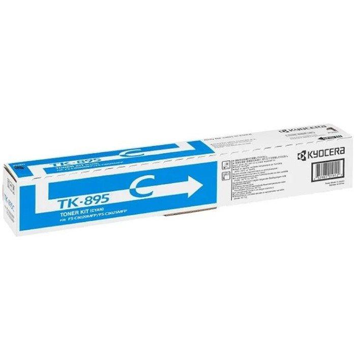 Тонер Картридж Kyocera 1T02K0CNL0 TK-895C голубой для Kyocera FS-C8020MFP/C8025MFP (6000стр.) 1726 фото