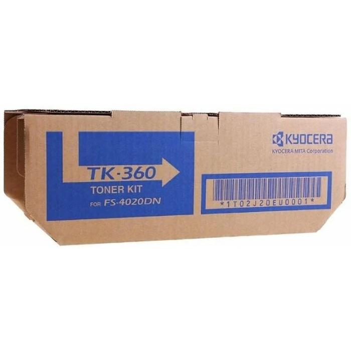 Тонер Картридж Kyocera TK-360 черный для Kyocera FS-4020 (20000стр.) фото