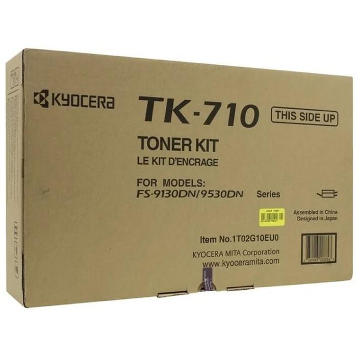 Тонер Картридж Kyocera TK-710 черный для Kyocera FS-9130/9530ВТ (40000стр.) фото