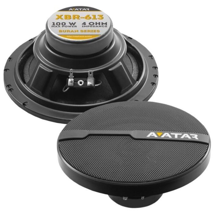 Акустическая система Avatar XBR-613, 16 см, 100 Вт, набор 2 шт фото