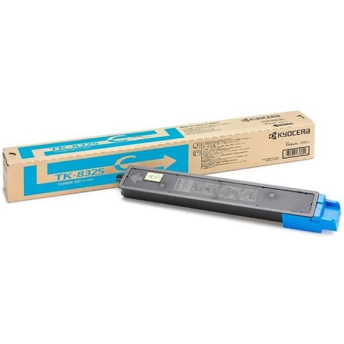 Тонер Картридж Kyocera TK-8325C голубой для Kyocera TASKalfa 2551ci (12000стр.) фото