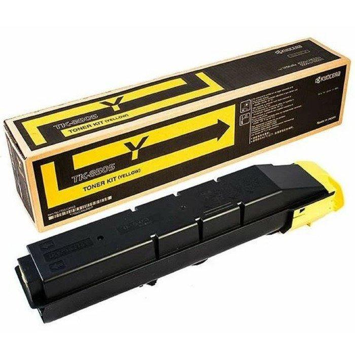 Тонер Картридж Kyocera TK-8505Y желтый для Kyocera TASKalfa 4550ci/5550cii фото