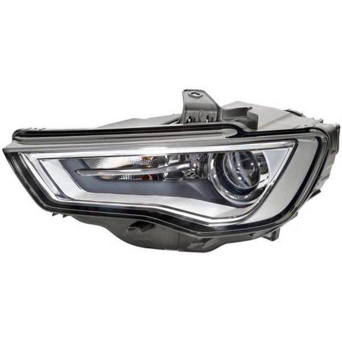Фара головного света на Audi A3 (8V_) 04/12->, Би-Ксенон (D3S/H8, LED), правая, 1ZS 010 740-661 фото