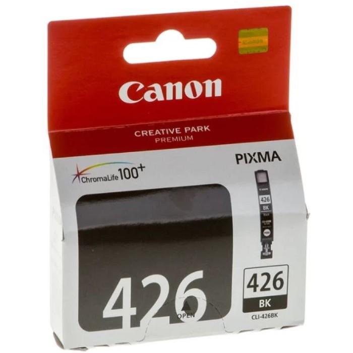 Картридж струйный Canon CLI-426BK 4556B001 черный для Canon iP4840/MG5140/MG5240/MG6140/MG8140 172 фото