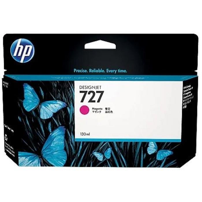 Картридж струйный HP 727 B3P20A пурпурный для HP DJ T920/T1500 (130мл) фото