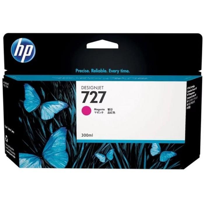 Картридж струйный HP 727 F9J77A пурпурный для HP DJ T1500/T1530/T2500/T2530/T920/T930 (300мл) 1724 фото