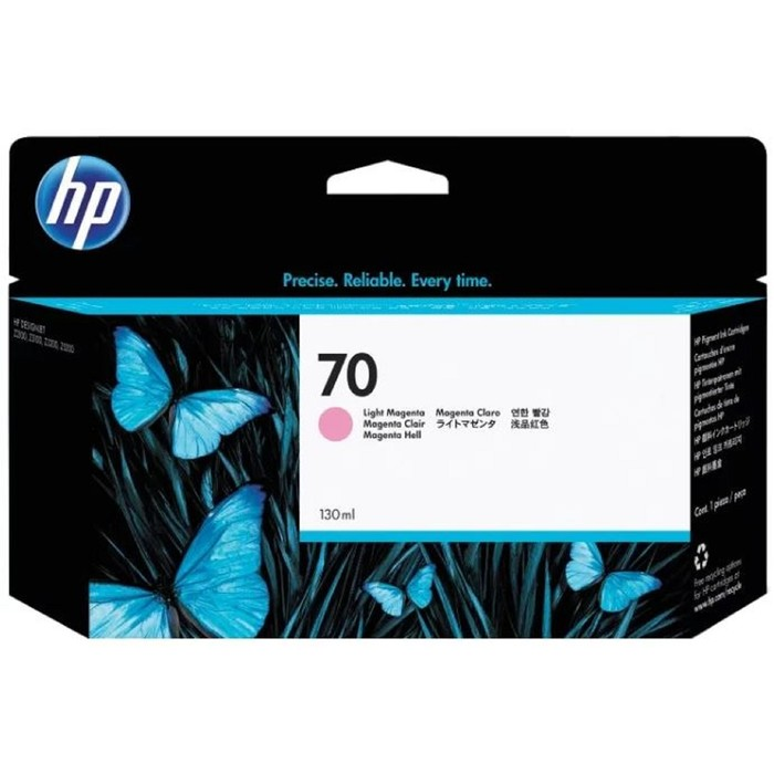 Картридж струйный HP №70 C9455A светло-пурпурный для HP DJ Z2100/Z3100 (130мл) фото