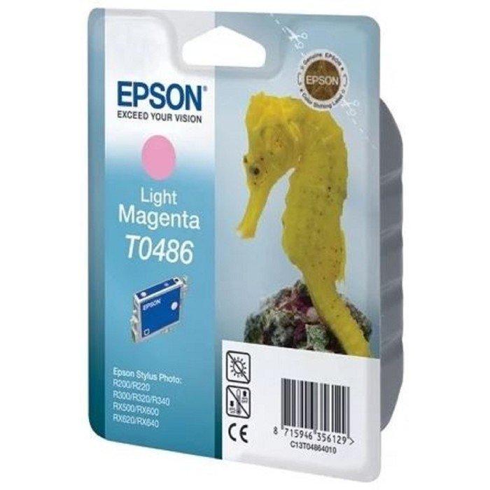 Картридж струйный Epson C13T048640 светло-пурпурный для Epson St Ph R300/RX500 фото