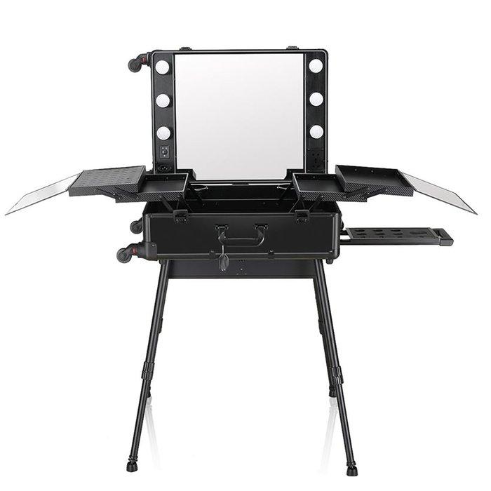 Мобильная студия визажиста, цвет чёрный LC 004 фото
