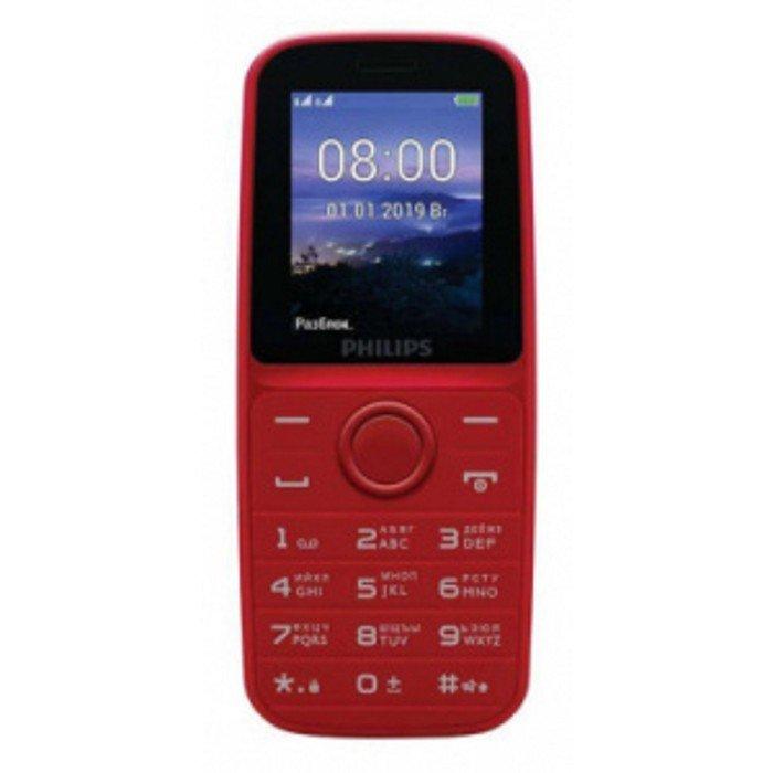 Мобильный телефон Philips E109 Xenium, 2Sim, 1.77