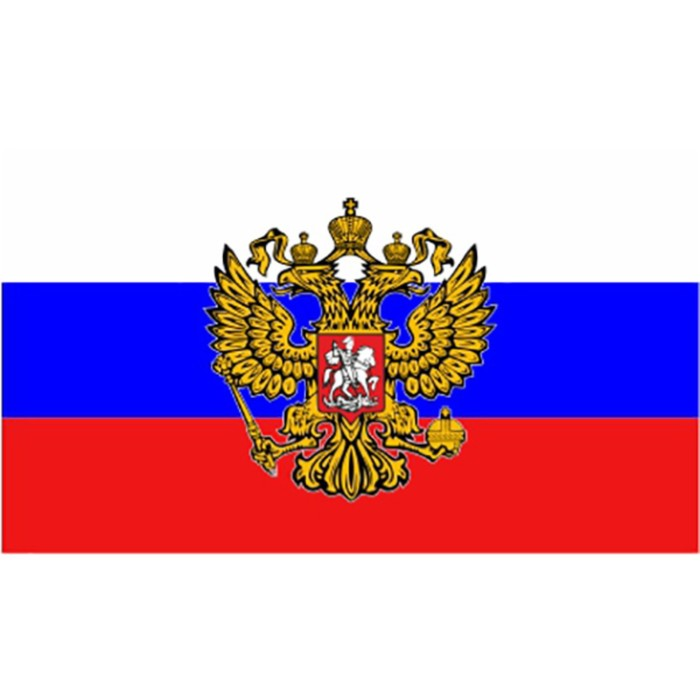 Флаг прямоугольный на липучке