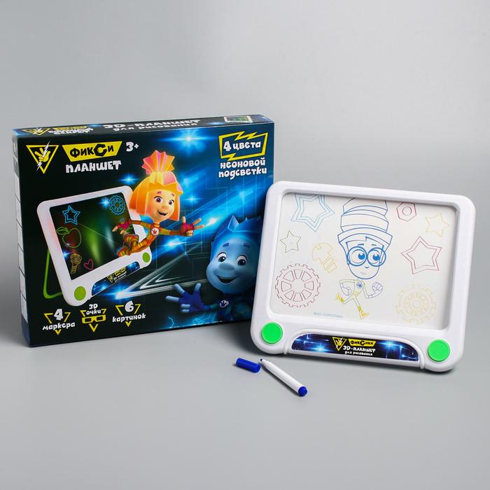 3D-планшет для рисования «Фикси планшет», ФИКСИКИ фото