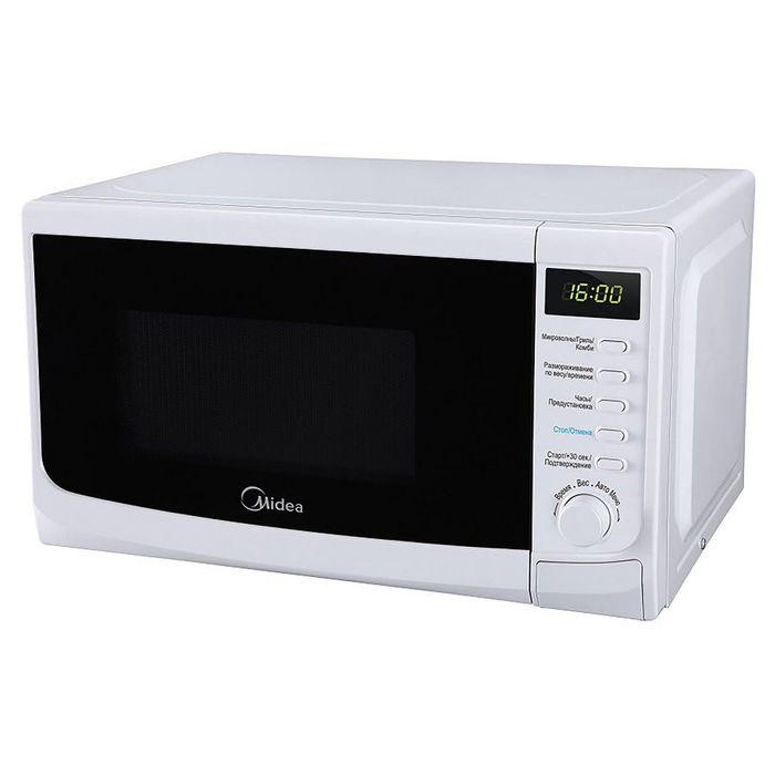 Микроволновая печь Midea AG820CWW-W белый фото