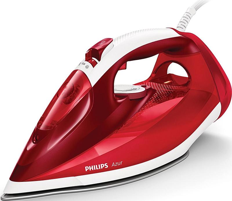 Утюг Philips Azur GC4542/40 красный/белый фото