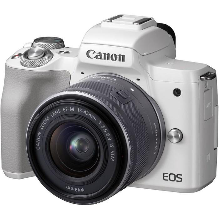 Фотоаппарат Canon EOS M50, 24.1мп, 4K, 3