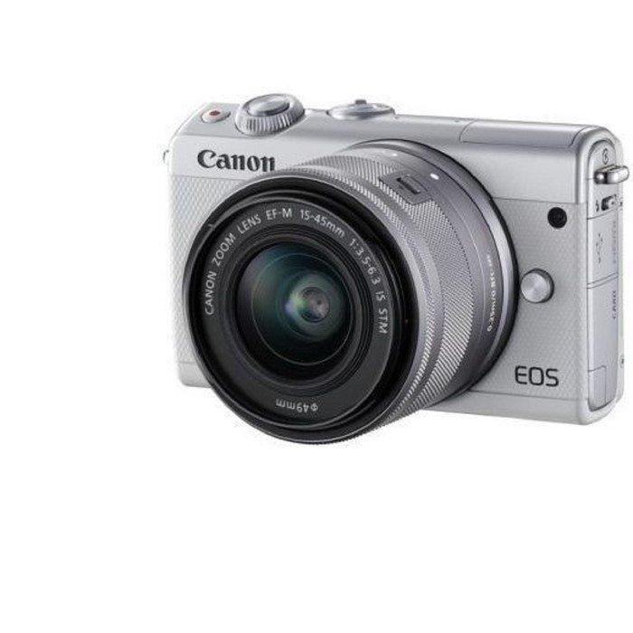 Фотоаппарат Canon EOS M100, 24.2мп, 1080р, 3