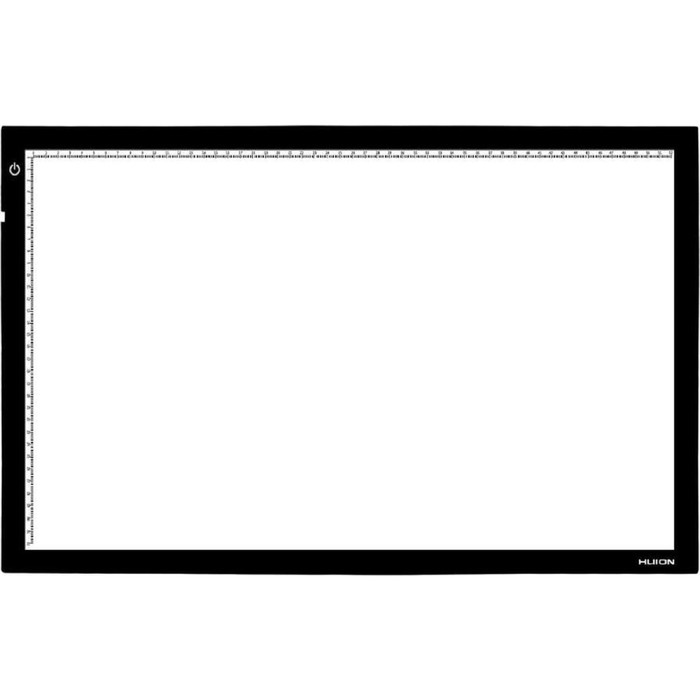 Светокопировальный планшет Huion A2, LED, черный фото