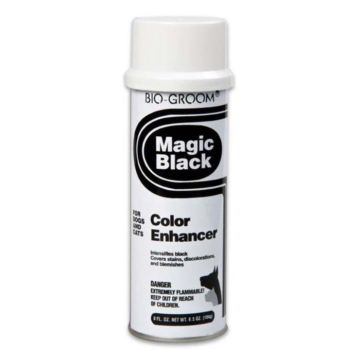 Cпрей-мелок Bio-Groom Magic Black черный, выставочный 236 мл фото