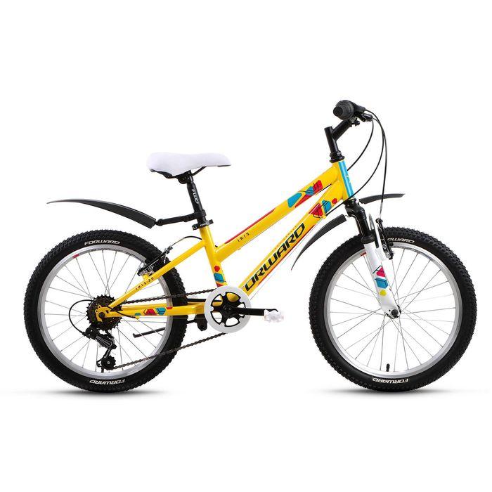 """Купить со скидкой Велосипед 20"""" Forward Iris, 2017, цвет жёлтый, размер 10,5"""""""