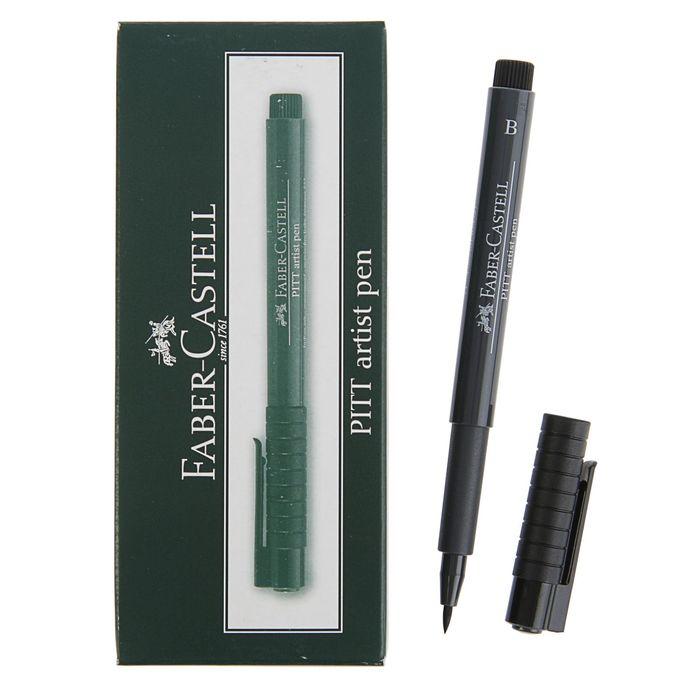 Ручка кисть капиллярная Faber-Castell PITT® Artist Pen Brush, холодный серый VI 235 167435 фото