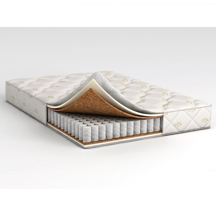 Матрас Askona Compact Cascade, размер 120х200 см, высота 17 см, трикотаж фото