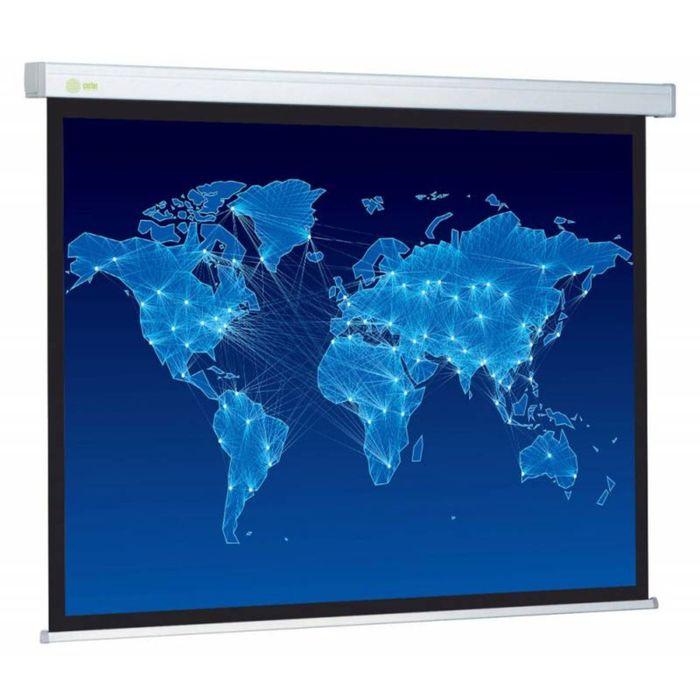 Экран Cactus 152x203 Wallscreen CS-PSW-152x203 4:3, настенно-потолочный, рулонный фото