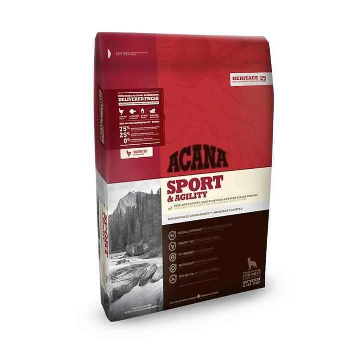 Сухой корм Acana Dog Sport & Agility для активных собак, 11.4 кг фото