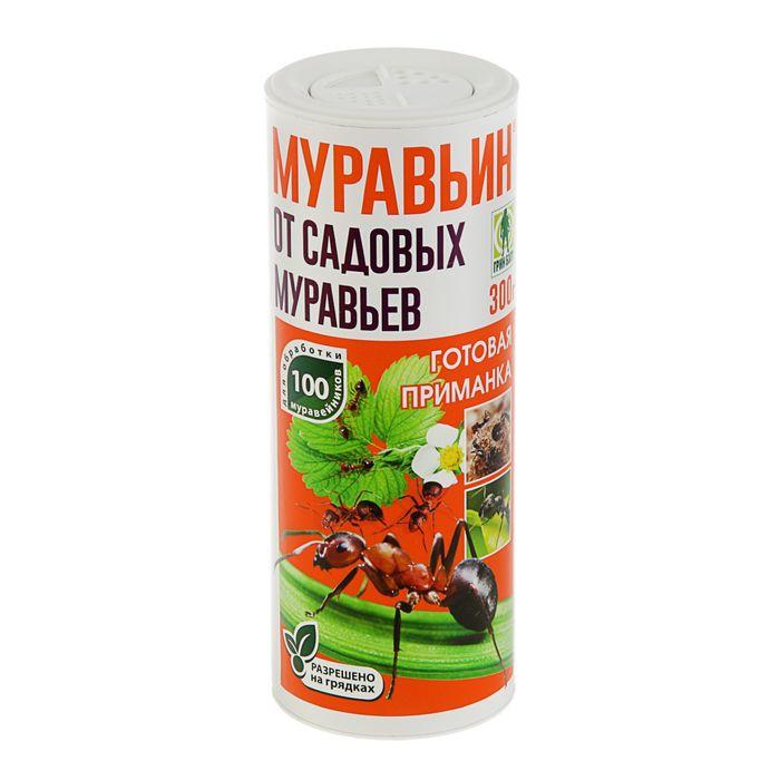 Средство от садовых муравьев Муравьин Грин Бэлт, туба, 300 г фото