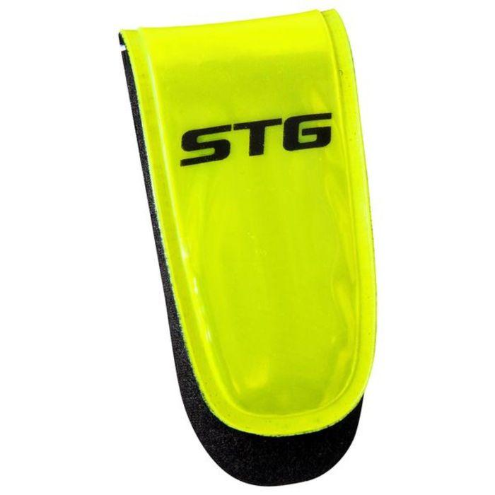 Купить со скидкой Катафот велосипедиста STG 49011 на липучке, 3 красных диода