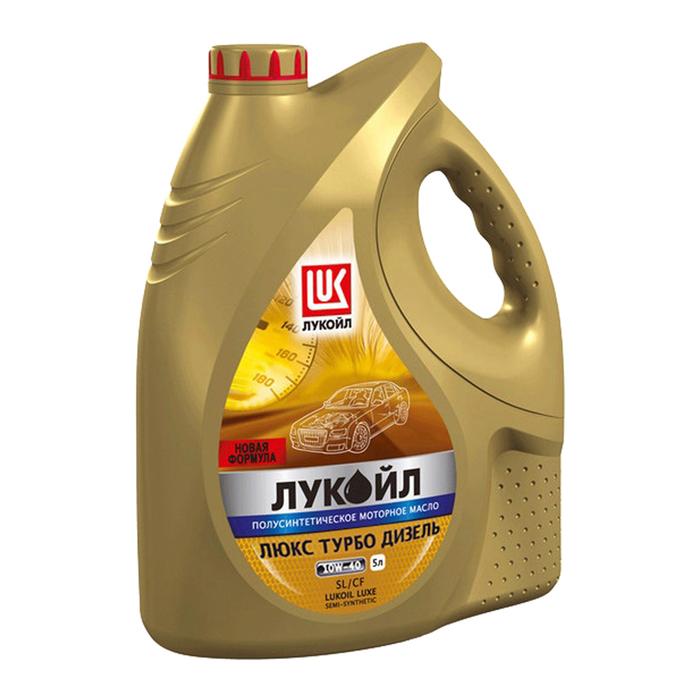 Моторное масло Лукойл Люкс Турбо Дизель 10W-40 5л фото