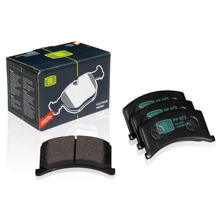 Колодки тормозные дисковые передние TRIALLI PF973 фото