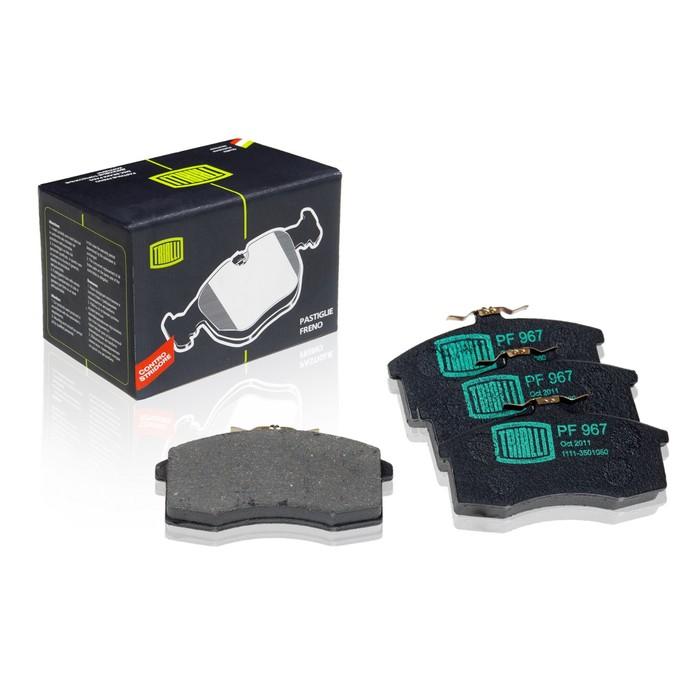 Колодки тормозные дисковые передние TRIALLI PF967 фото