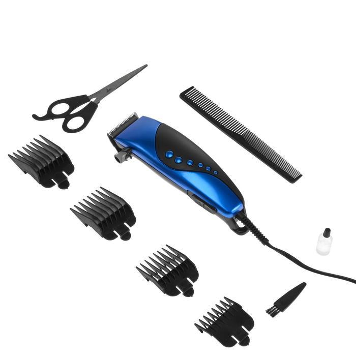 Машинка для стрижки волос Irit IR-3309, 4 уровня стрижки, 10 Вт, электрическая фото