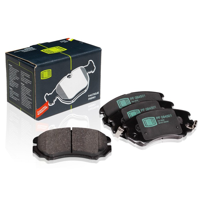 Колодки тормозные дисковые передние TRIALLI PF084501 фото
