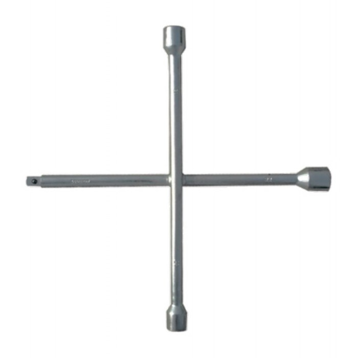 Ключ-крест СИБРТЕХ, баллонный, 17 х 19 х 21 мм, под квадрат 1/2