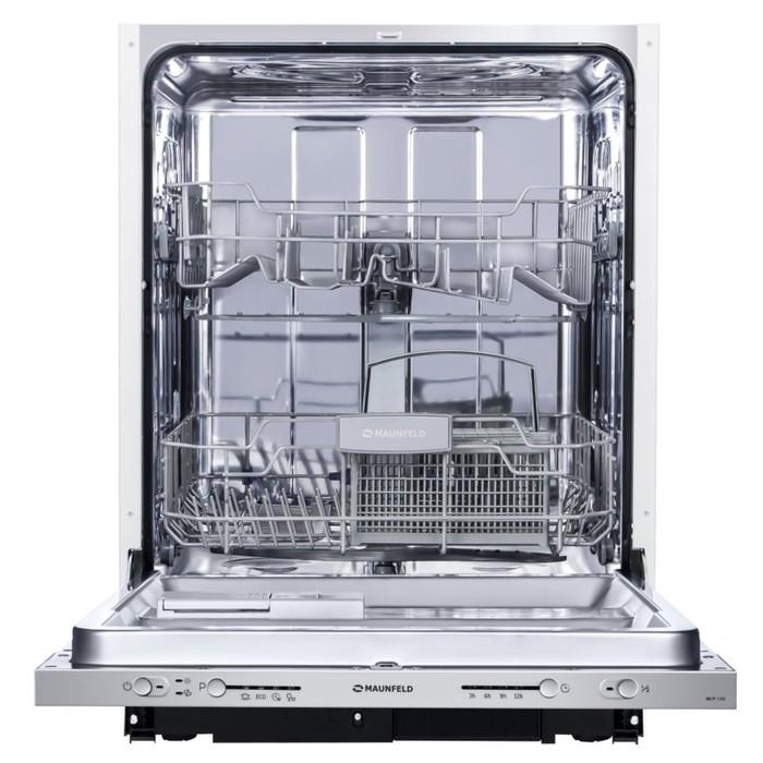 Посудомоечная машина Maunfeld MLP-12S, класс А+, 5 режимов, серебристый фото
